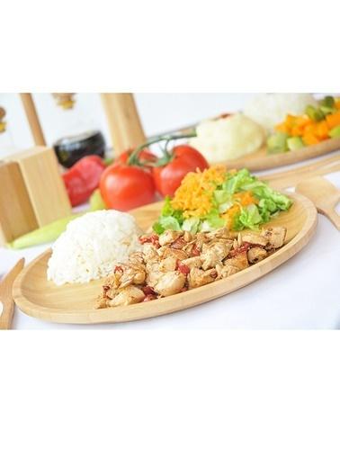Bambum Yemek Tabağı Renksiz